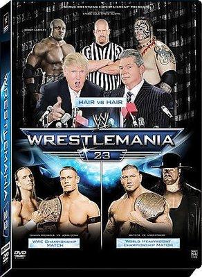 ☆阿Su倉庫☆WWE摔角 Wrestlemania 23 Ultimate Limited Edition 3 Discs DVD WM23摔角狂熱限量3片裝