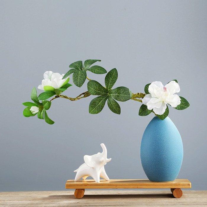 熱賣創意陶瓷小花瓶ins風簡約北歐裝飾品電視柜客廳玄關假花插花擺件#擺件#陶瓷#北歐