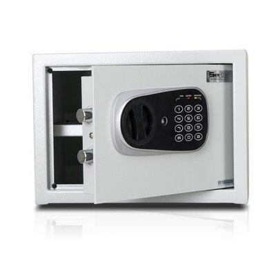 [弘瀚台中] 聚富保險箱 小型簡美型保險箱(25FD) 金庫/防盜/電子式/密碼鎖/保險櫃