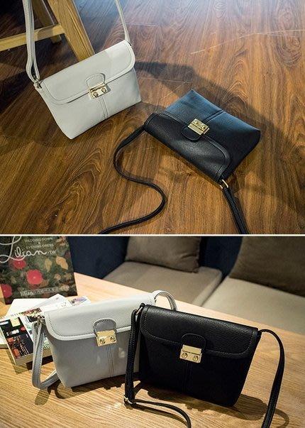 【Miss 小Q】韓國 小方包 小包 側背包 女包 小女包 手拿包 KOREA 歐美扣環 金扣 女包 晚宴包 手拿包