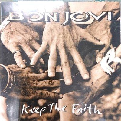 邦喬飛 BON JOVI / 保持信念 Keep The Faith 德版 MADE IN GERMANY