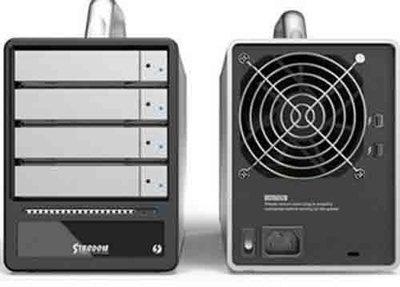喬格電腦  STARDOM Thunderbolt 2 ST4-TB 4 Bay 四層磁碟陣列硬碟外接盒