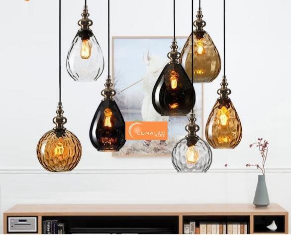 【LUNA LIGHT 月之燈坊】美式復古工業玻璃吊燈(P-517),另有LOFT工業吊燈設計師的燈