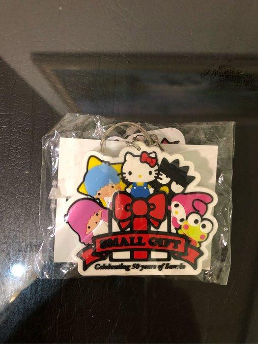全新 正版 Sanrio 卡通人物 鑰匙圈 大眼蛙 酷企鵝 美樂蒂 雙子星 kitty kikilala