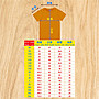 T365 MIT 台灣製造 CORONAVIRUS TAKE CARE OF EACH OTHER 黃色 親子裝 T恤