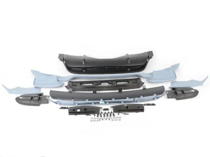 【樂駒】BMW E70 M Performance 外觀 空力 改裝 套件 前下擾流板 後下擾流 升級