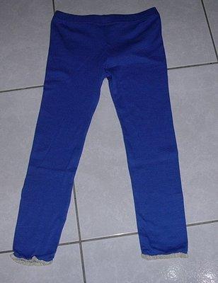 7分褲淺藍色彈性褲/內搭褲/運動褲 鬆緊腰圍 購買價:99 元