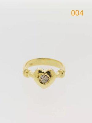 【益成當舖】流當品 (已售出) K金鑽石戒指 真K真鑽 鑽石約10分 特價出清 一件5000元 成本出清買到賺到