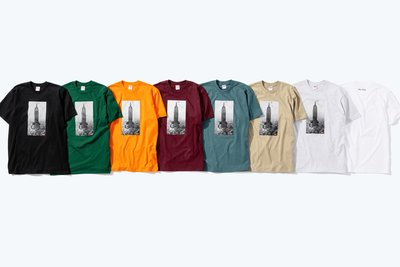 YZY台灣 | FW18 SUPREME NEW YORK EMPIRE STATE BUILDING TEE 短袖