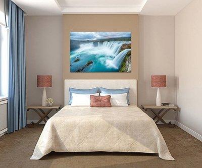 客製化壁貼 店面保障 編號F-037 壯觀瀑布 壁紙 牆貼 牆紙 壁畫 星瑞 shing ruei
