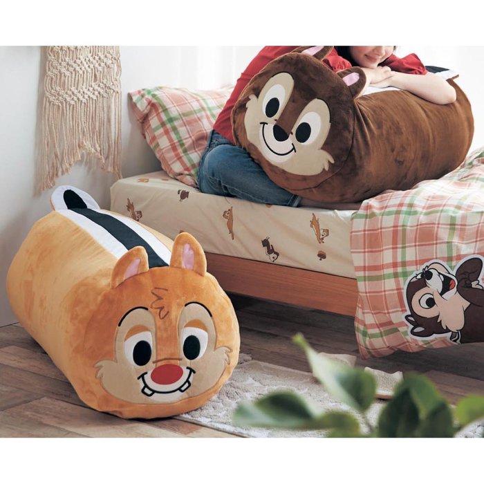 迪士尼Disney《預購》單人 省空間筒狀棉被收納袋~奇奇 蒂蒂 杯麵~可機洗~日本正品~共3款~心心小舖
