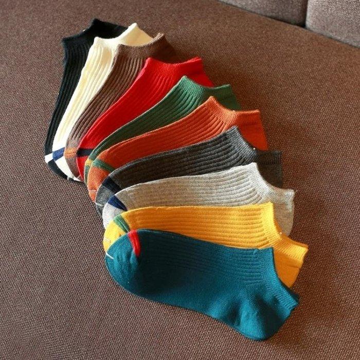 襪子男士短襪子棉質襪防臭吸汗正韓薄潮船襪子男夏季短筒淺口低筒AMXP