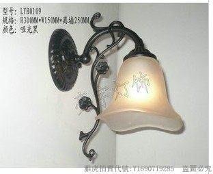 新款亮宇燈飾歐式鋅合金壓鑄單頭過道 床頭壁燈1 68