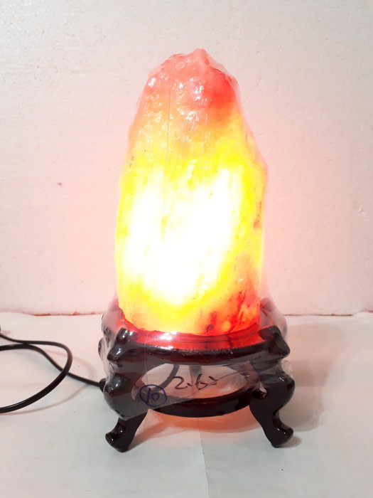 【九龍藝品】鹽   燈  ~  重量約2.62kg【10】