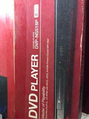 SONY CD/DVD player DVP-NS518P二手藏品