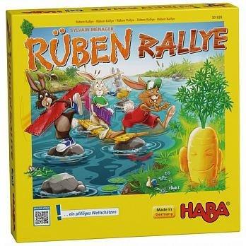 大安殿實體店面 免運 附中文說明書 蹦跳兔大挑戰 Rabbit Rally 彈彈兔拉力賽 HABA正版益智桌上遊戲