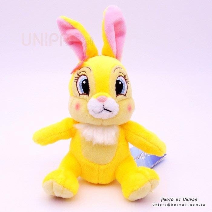 【UNIPRO】迪士尼正版 邦妮兔 15公分高 絨毛娃娃 玩偶 珠鍊吊飾 禮物 BUNNY 兔子