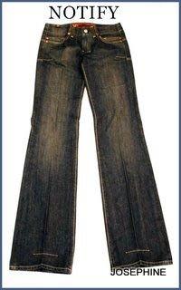 喬瑟芬【NOTIFY JEANS】7折特價$8960~藍色復古刷白單寧直筒牛仔褲MR2873~