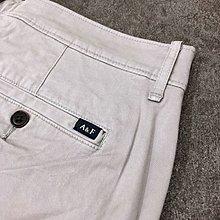 Maple麋鹿小舖 Abercrombie&Fitch * AF 灰色休閒短褲 * ( 現貨33號 )