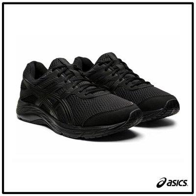 【跑者】【asics亞瑟士】GEL-CONTEND 6 慢跑鞋 4E寬楦/黑1011A666-002 A995
