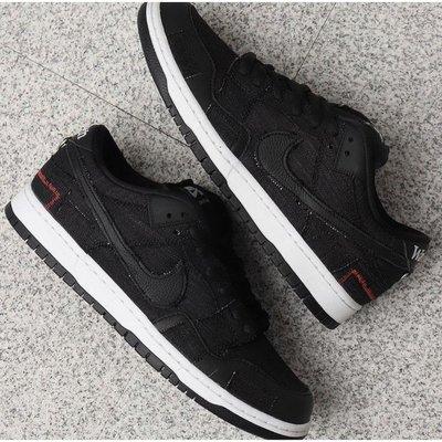無現貨Wasted Youth x Nike SB Dunk Low 黑紅 廢柴青年聯名 DD8386-001 慢跑鞋 實拍代購