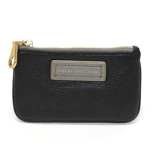 美國名牌MARC BY MARC JACOBS  key pouch 荔枝紋皮革鑰匙零錢包現貨在美特價$2080含郵
