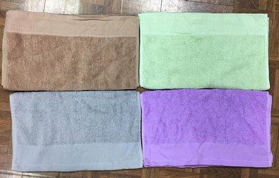 台灣製100%純棉  28兩 深色素面毛巾#買十送二#美髮業用