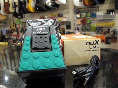 ☆ 唐尼樂器︵☆ NUX LM3 Live Mate 疊軌伴奏播放效果器(舞台演出踏板型 MP3 撥放器)