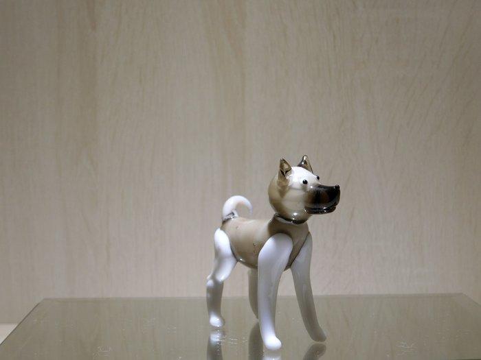 【藝晶香琉璃藝術工坊】手工琉璃、可愛小擺飾招財小狗、藝術品