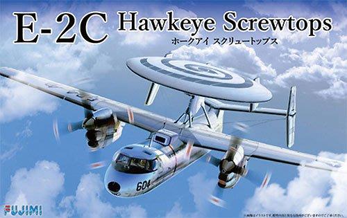 FUJIMI 1/72 F7 F07 E-2C Hawkeye Screw Top 鷹眼空中預警機 (72285)