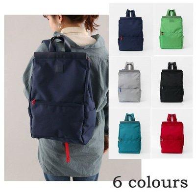 日本銷售冠軍anello夾口後背包書包媽媽包帆布包  /HU41