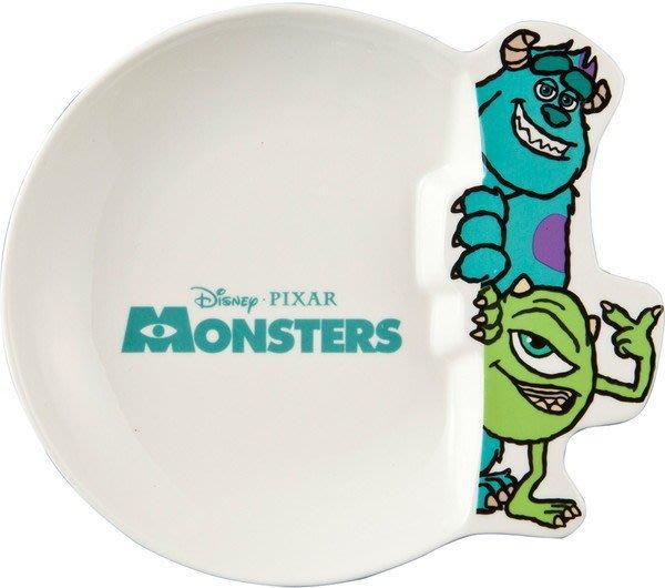 迪士尼Disney《現貨》怪獸電力公司 毛怪麥克 造型瓷器咖哩盤 盤子 碟子~日本正品~心心小舖