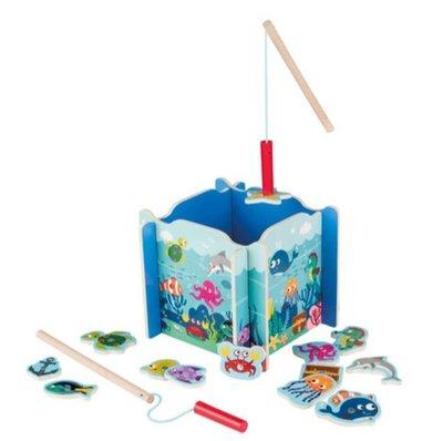 英國直送 德國製造 Playtive Junior 木製 釣魚遊戲 兒童 嬰兒 玩具 蒙特梭利 Montessori