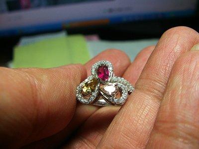 **結緣水晶**超優質,清透漂亮,天然碧璽戒指,款式都不一樣,喜歡的參考看看,全館特賣免運費唷(25)