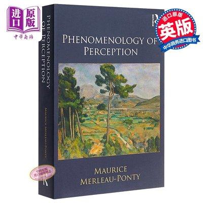感知現象學 Phenomenology of Perception 英文原版 莫里斯梅洛龐蒂 MauriceMerleauPonty Routledge