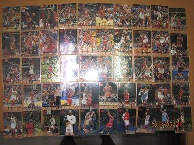 網拍讀賣~Michael Jordan~MJ~喬丹~大帝~97/98~20年歷史~共50張~3500元~輕鬆付~非常少見