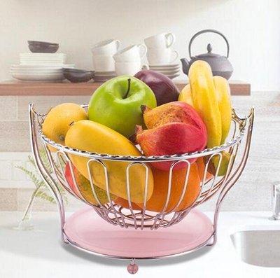 果盤-創意水果籃果盤客廳瀝水家用零食桌面收納置物架家居用品送禮佳品【巴黎春天】
