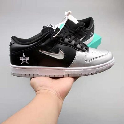 Nike SB Dunk Low 黑銀 百搭 星星 休閒滑板鞋 CK3480-001 情侶鞋
