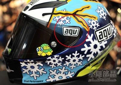 【小隱部品】MotoGP YAMAHA Rossi VR46 羅西 AGV鏡片反光貼紙(agv arai shoei) 新北市