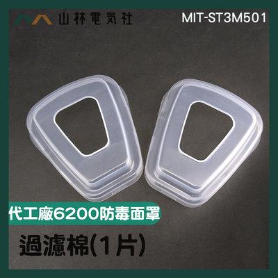 『山林電氣社』安全用品配件 固定配件 過濾棉專用蓋 代工廠6200過濾棉安裝殼(1片) MIT-ST3M501 塑膠殼