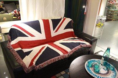 掛毯 掛布 直播布 背景布 掛飾美式LOFT鄉村復古米字旗英國國旗沙發墊防滑沙發巾沙發毯裝飾蓋毯