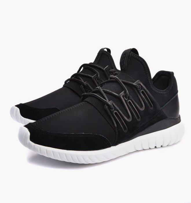 【Shopa】現貨 特價 ADIDAS TUBULAR RADIAL 黑白 武士 忍者鞋 AQ6723