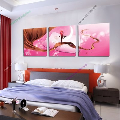【50*50cm】【厚1.2cm】愛情-無框畫裝飾畫版畫客廳簡約家居餐廳臥室牆壁【280101_410】(1套價格)