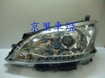 京里車燈專網  NISSAN SUPER SENTRA 銀框魚眼LED魚眼大燈