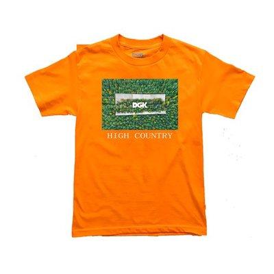 [CABAS滑板店] DGK HIGH COUNTRY TEE 橘色 │滑板 低級客 美式