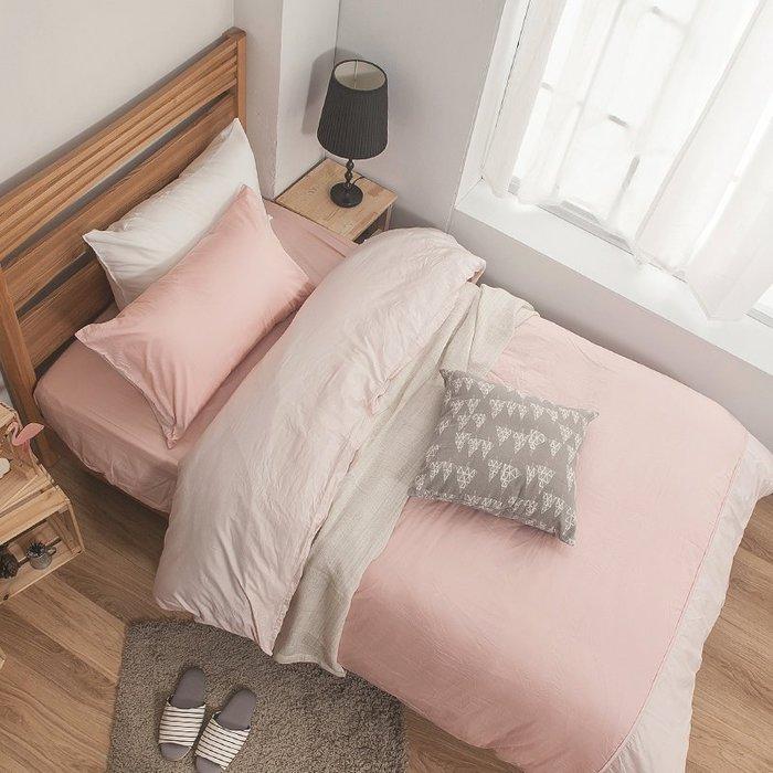 床包 / 雙人特大【簡單生活系列-多色可選】含兩件枕套  100%精梳棉  戀家小舖台灣製AAA501