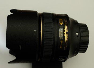 NIKON AF-S NIKKOR 58mm f/1.4G 超美品