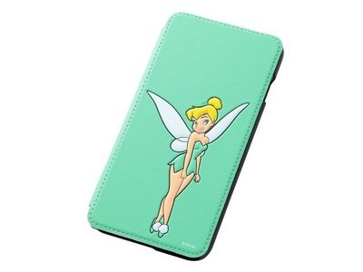 尼德斯Nydus~* 日本 Disney 迪士尼 比得潘 小精靈 翻頁式 手機殼 iphone6+ plus 5.5吋