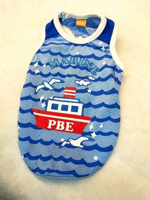 貝果貝果 日本 Pet Paradise 代理 PBE  海鷗渡船夏季透氣背心 [D7665]