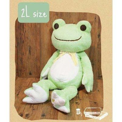 pp青蛙王子~日本進口愛情娃娃青蛙王子擺飾公仔絨娃兒童公仔玩偶&DK-2507XaA